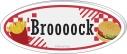 【グッズ-バッジ】ワイテルズ アクリルバッジ Broooock【アニメイトカフェ】の画像