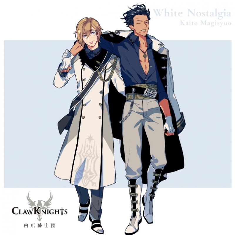 【キャラクターソング】CARAVAN STORIES Claw Knights White Nostalgia 初回盤C