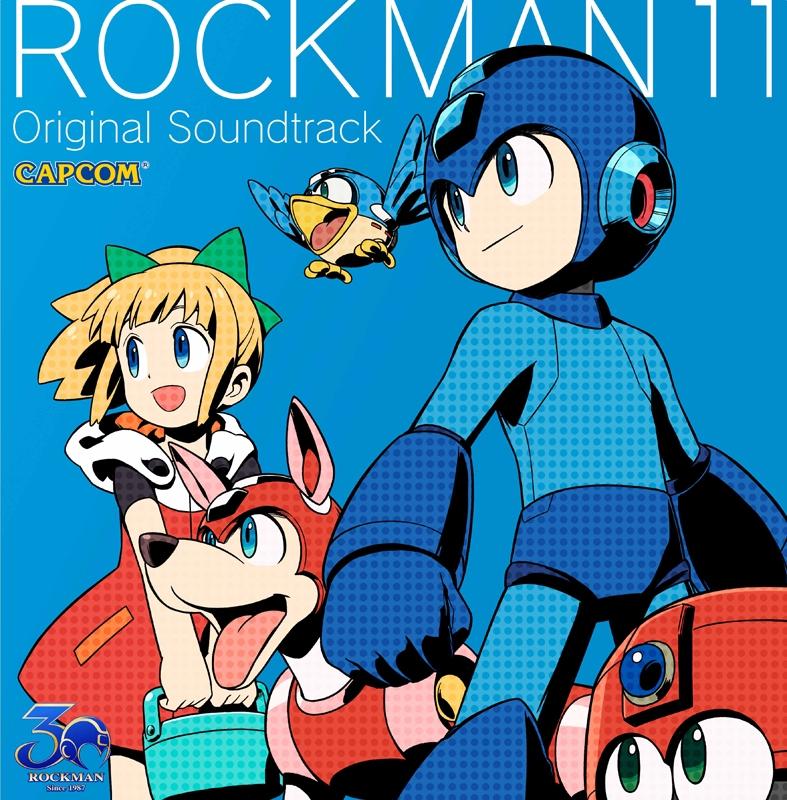 【サウンドトラック】ゲーム ロックマン11 運命の歯車!! オリジナルサウンドトラック