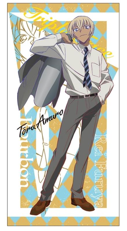 【グッズ-タオル】名探偵コナン ビジュアルバスタオル 2.安室透