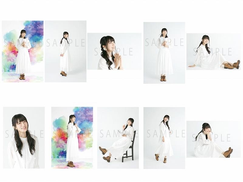 【グッズ-ポストカード】石川由依「UTA-KATA旋律集Vol.1~夜明けの吟遊詩人~」 ポストカードセット