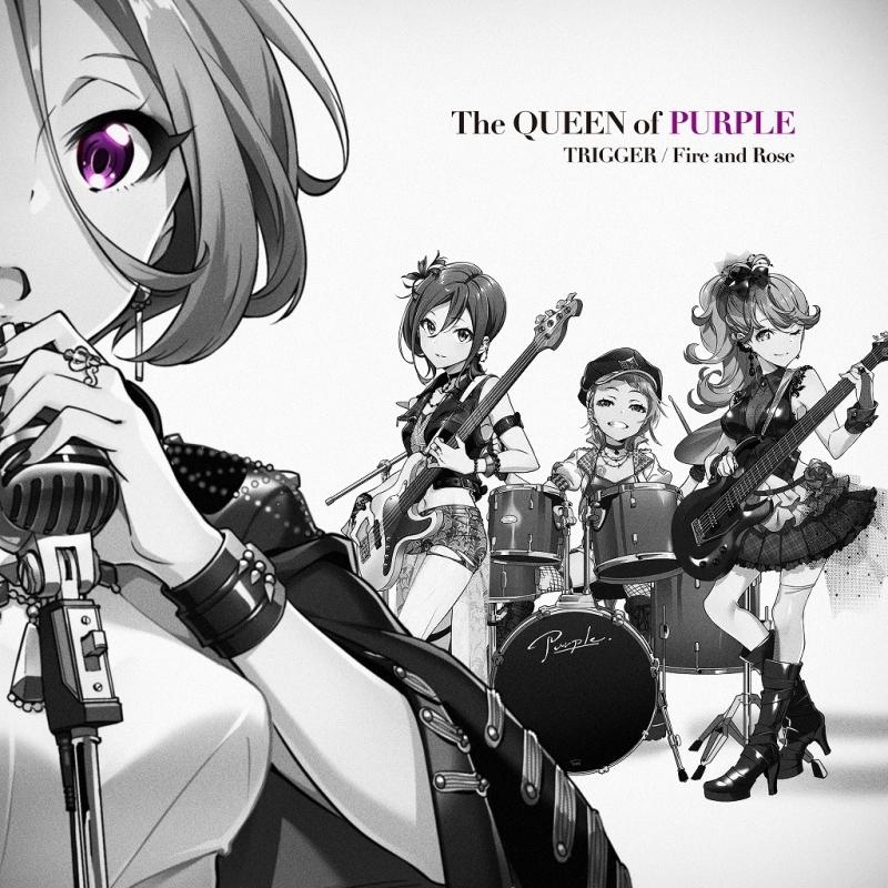【キャラクターソング】ゲーム Tokyo 7th シスターズ The QUEEN of PURPLE/TRIGGER 初回限定盤