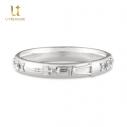 【グッズ-指輪】アズールレーン モチーフリング(ユニコーン) シルバー 11号の画像