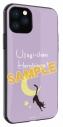 【グッズ-カバーホルダー】美少女戦士セーラームーン IIIIfit iPhone 11/XR対応ケース ルナ柄の画像