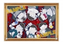 【グッズ-ボード】おそ松さん アクリルアートパネルの画像