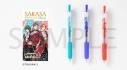 【グッズ-ボールペン】ツキウタ。THE ANIMATION2 SARASAクリップ カラーボールペン 3本セット 夏組ver.の画像