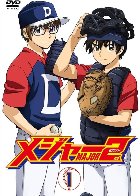 【DVD】TV メジャーセカンド DVD BOX Vol.1