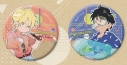 【グッズ-バッチ】BANANA FISH 缶バッジセット SUMMER ver.の画像