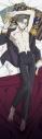 【グッズ-ピローケース】さらざんまい <描き下ろし>スムース抱き枕カバー 阿久津 真武の画像