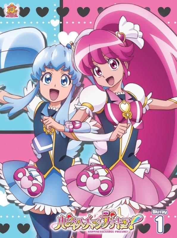 【Blu-ray】TV ハピネスチャージプリキュア! Vol.1