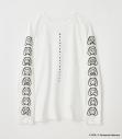 【グッズ-Tシャツ】R4G×初音ミク MIKUMOJI LONG SLEEVE TEE WHT Mサイズの画像