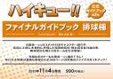 【その他(書籍)】ハイキュー!! ファイナルガイドブック 排球極!の画像