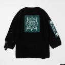 【グッズ-Tシャツ】『ディズニー ツイステッドワンダーランド』 TW Oversized Knit Tops GRN Lの画像