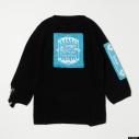 【グッズ-Tシャツ】『ディズニー ツイステッドワンダーランド』 TW Oversized Knit Tops BLU Lの画像