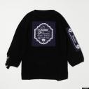 【グッズ-Tシャツ】『ディズニー ツイステッドワンダーランド』 TW Oversized Knit Tops NVY Lの画像