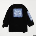 【グッズ-Tシャツ】『ディズニー ツイステッドワンダーランド』 TW Oversized Knit Tops PUR Lの画像
