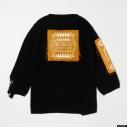 【グッズ-Tシャツ】『ディズニー ツイステッドワンダーランド』 TW Oversized Knit Tops YEL Lの画像