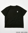 【グッズ-Tシャツ】R4G×進撃の巨人 SURVEY CORPS TEE BLK Lサイズの画像