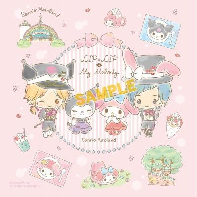 1f10d142f97e7d 【グッズ-ハンカチ】HoneyWorks×My Melody マイクロファイバー B