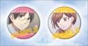 【グッズ-バッチ】この音とまれ! 缶バッジセット/武蔵&妃呂の画像