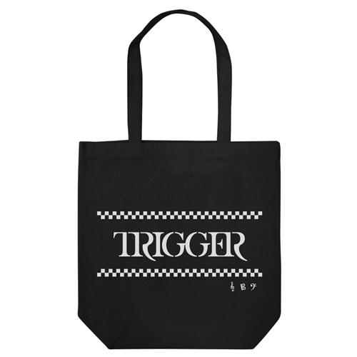 【グッズ-バック】アイドリッシュセブン TRIGGERトート ブラック【再販】