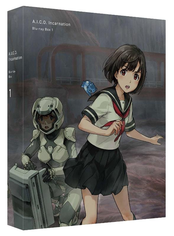 【Blu-ray】WEB A.I.C.O. Incarnation Blu-ray Box 1 特装限定版
