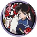 【グッズ-ミラー】半妖の夜叉姫 缶ミラー(せつな)の画像