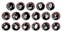 【グッズ-バッチ】ペルソナ5 トレーディング アイコン缶バッジ vol.1【再販】の画像