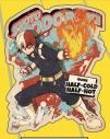 【グッズ-ステッカー】僕のヒーローアカデミア トラベルステッカーACTION 4.轟焦凍【再販】の画像