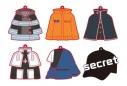 【グッズ-キーホルダー】炎炎ノ消防隊 衣装ラバーコレクションの画像