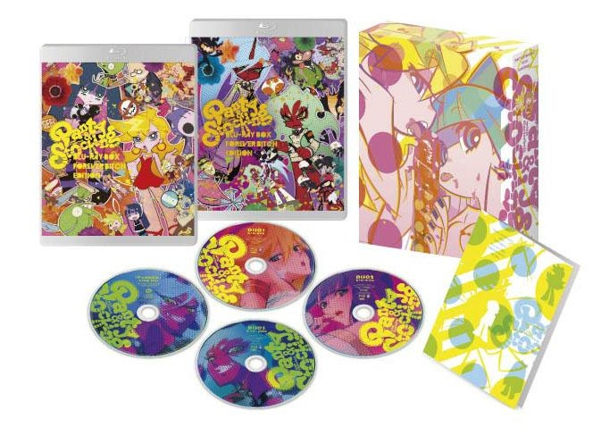 【Blu-ray】TV Panty&Stocking with Garterbelt-パンティ&ストッキングwithガーターベルト- Blu-ray BOX Forever BitchEdition