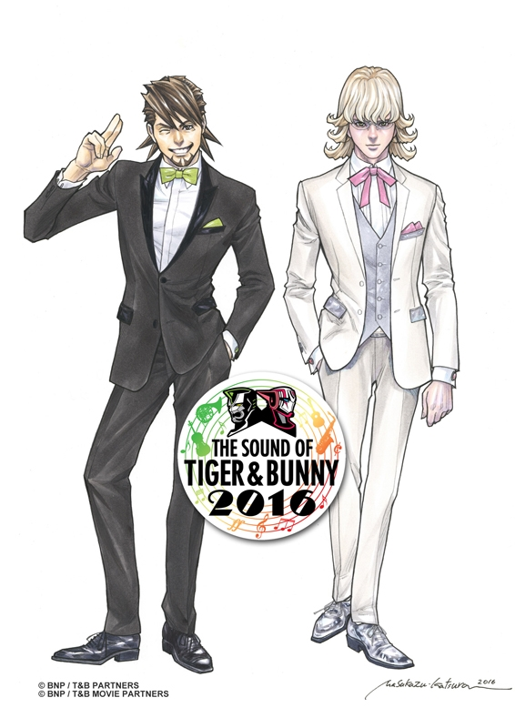 【Blu-ray】THE SOUND OF TIGER & BUNNY 2016