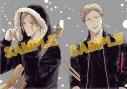 【その他(書籍)】「ギヴン」クリアファイルセット 〈春樹・秋彦〉メタリックの画像