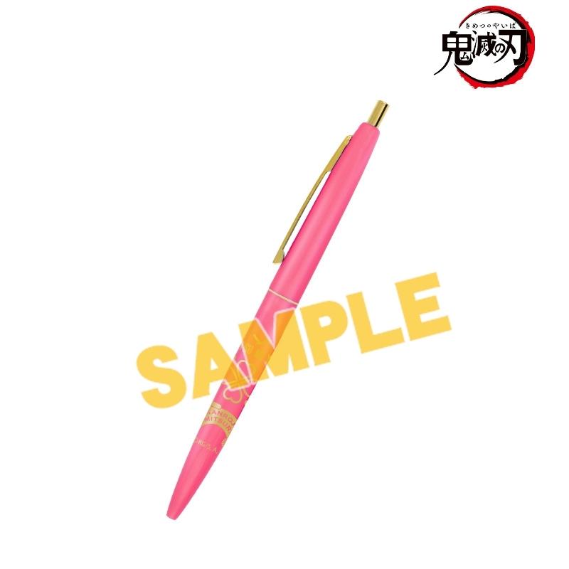 【グッズ-ボールペン】鬼滅の刃 甘露寺蜜璃 クリックゴールド ボールペン【一般販売分】