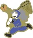 【グッズ-ピンバッチ】忍たま乱太郎 アニメ版・ピンズ ゆるパレット 竹谷八左ヱ門 OS記念【再販】の画像