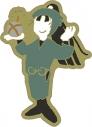 【グッズ-ピンバッチ】忍たま乱太郎 アニメ版・ピンズ ゆるパレット 立花仙蔵 OS記念【再販】の画像