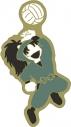 【グッズ-ピンバッチ】忍たま乱太郎 アニメ版・ピンズ ゆるパレット 七松小平太 OS記念【再販】の画像