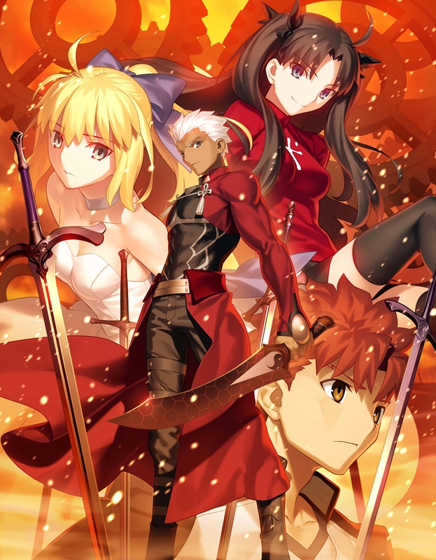 【Blu-ray】Fate/stay night [Unlimited Blade Works] Blu-ray Disc Box Standard Edition