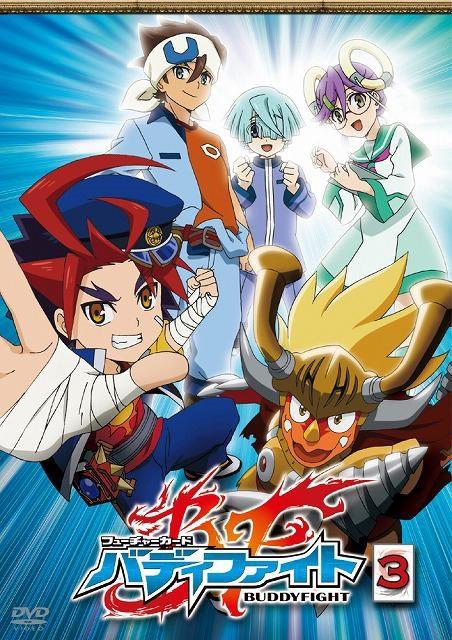 【DVD】TV フューチャーカード バディファイト 3