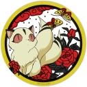 【グッズ-ミラー】半妖の夜叉姫 缶ミラー(雲母)【再販】の画像