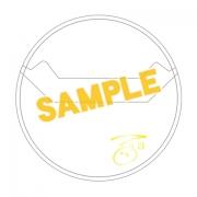 アイドリッシュセブン サイン入り缶バッジカバー 3枚セット(百)