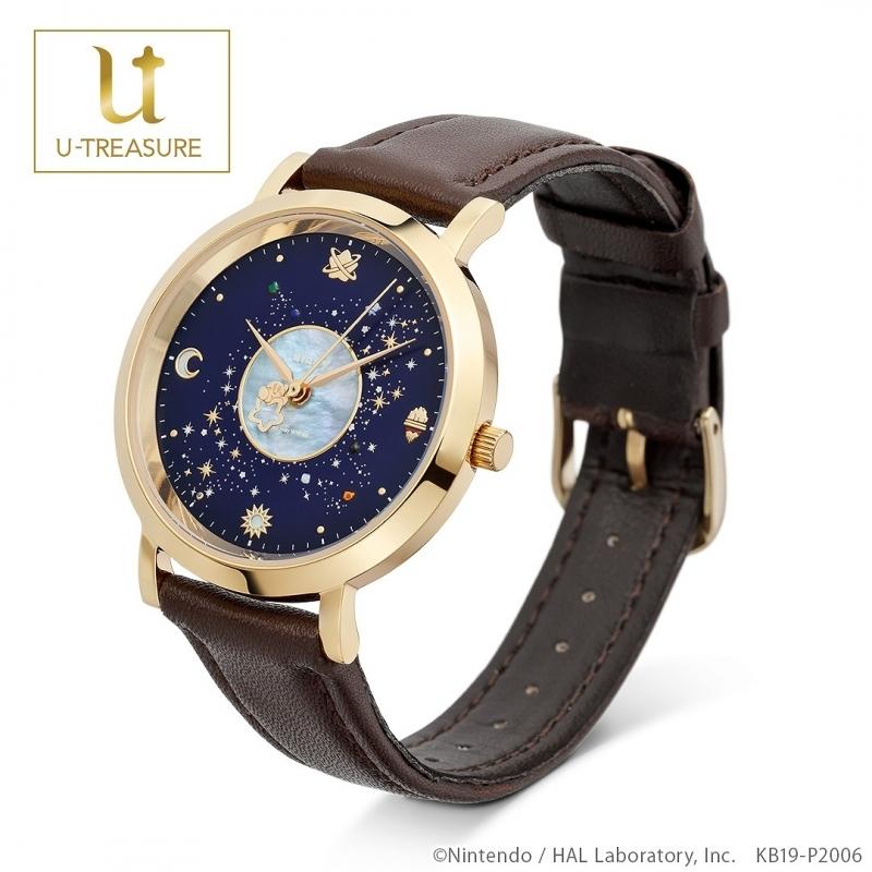 【グッズ-時計】星のカービィ Milky Way Wishes 腕時計 ステンレス(イエローゴールド)