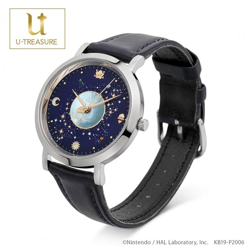 【グッズ-時計】星のカービィ Milky Way Wishes 腕時計 ステンレス(シルバー)