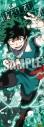 【グッズ-ポスター】僕のヒーローアカデミア ロングクリアポスター「緑谷 出久」の画像
