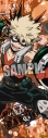 【グッズ-ポスター】僕のヒーローアカデミア ロングクリアポスター「爆豪 勝己」の画像