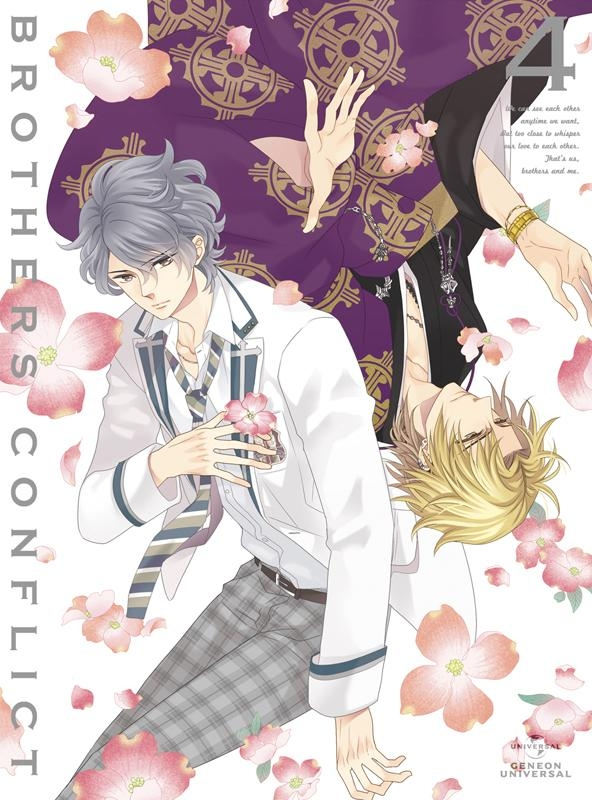 【Blu-ray】TV BROTHERS CONFLICT 第4巻 初回限定版