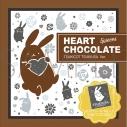 【グッズ-食品】ツキウタ。 ハートチョコレート/ツキウサ。の画像