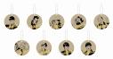【グッズ-コースター】歌舞伎町シャーロック トレーディングコースターチャーム【アフターAGF2019】の画像