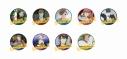 【グッズ-バッチ】歌舞伎町シャーロック トレーディング缶バッジ【アフターAGF2019】の画像