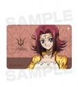 【グッズ-パスケース】コードギアス 復活のルルーシュ 描き下ろしイラスト カレン 1ポケットパスケースの画像